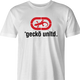 Gecko car insurance and Ecko Apparel funny t-shirt men's white