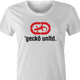 Gecko car insurance and Ecko Apparel funny t-shirt women's white