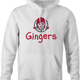 Funny Gingers Red Head hoodie