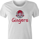 Funny Gingers Red Head women's T-shirt