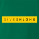 Funny give shlong live strong parody green t-shirt