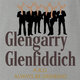 funny glengarry glenross glen fiddich mashup ash grey t-shirt