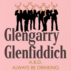funny glengarry glenross glen fiddich mashup men's white t-shirt