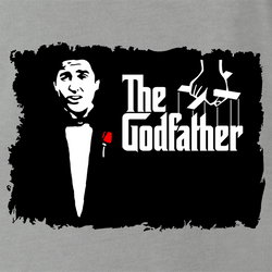 funny Old School Godfather Mitch Martin men's t-shirt