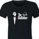 funny Old School Godfather Mitch Martin women's black