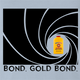 Funny Gold Bond James Bond Mashup t-shirt light blue