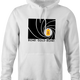 Funny Gold Bond James Bond Mashup hoodie white