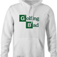 Funny Golfing Bad Golfer Breaking Bad Parody white hoodie