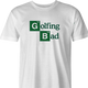 Funny Golfing Bad Golfer Breaking Bad Parody White Men's T-Shirt