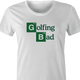 Funny Golfing Bad Golfer Breaking Bad Parody white women's t-shirt