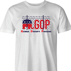 funny Impeach Trump Republican GOP political parodys t-shirt white men's