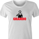 funny Rambo Grandfather Grambo Parody white women's t-shirt