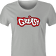funny Greasy Trailer Park Boys Grease Parody Mashup t-shirt women's Ash Grey
