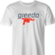 funny Greedo Speedo Star Wars Mashup men's t-shirt