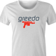 funny Greedo Speedo Star Wars Mashup t-shirt women's