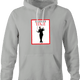 Funny MC Hammer Time Magazine Mashup Parody T-Shirt Ash Grey Hoodie