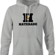 funny Haters Drink Haterade Parody white hoodie