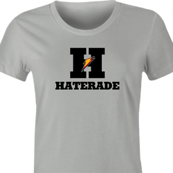 funny Haters Drink Haterade Parody white men's t-shirt