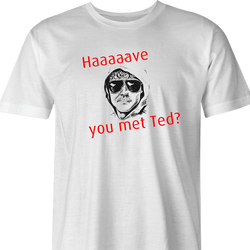 unabomber t-shirt men's white