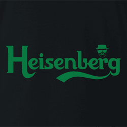 Funny breaking bad heisenberg carlsberg beer men's white t-shirt