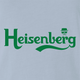 Funny breaking bad heisenberg carlsberg beer light blue t-shirt
