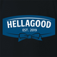 funny Hellmans mayonaisse Hellagood t-shirt black