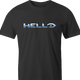 funny Hello Halo Mashup Parody men's t-shirt