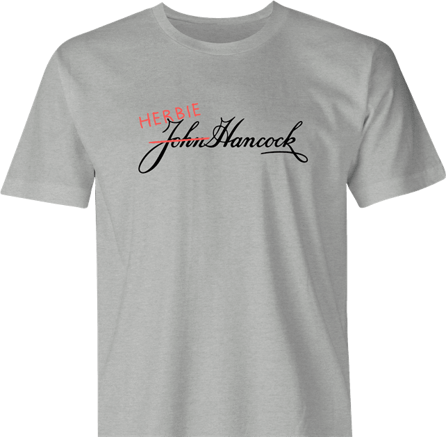 funny Tommy Boy Movie Herbie Hancock Test Fail Parody Ash men's t-shirt