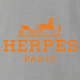 Funny Herpes hermes fashion wear ash grey t-shirt