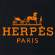 Funny Herpes hermes fashion wear black t-shirt