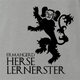 house lannister game of thrones ermahgerd ash grey t-shirt