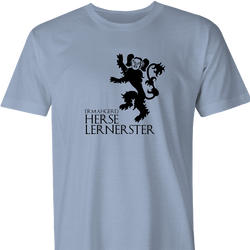 house lannister game of thrones ermahgerd men's ash t-shirt