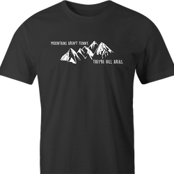 Funny Hilarious Play on Words 'Hill Areas' Parody Men's T-Shirt