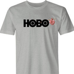 Funny Hobo Television Network Men's T-Shirt