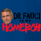 funny Fauci Is My Homeboy - Coronavirus COVID-19 Parody royal Blue t-shirt