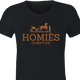Funny homies compton homes fashion wear women's t-shirt