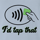tap pay light blue