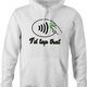 tap pay hoodie white