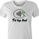 tap pay women's t-shirt white