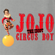 funny Chris Farley JoJo the idiot circus boy SNL parody t-shirt ash