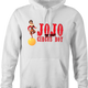 funny Chris Farley JoJo the idiot circus boy SNL parody t-shirt white men's hoodie