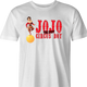 funny Chris Farley JoJo the idiot circus boy SNL parody t-shirt white men's