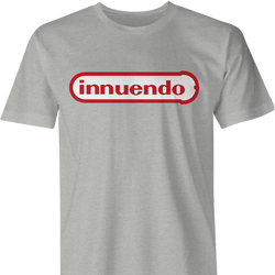 funny sexual innuendo nintendo parody men's ash t-shirt