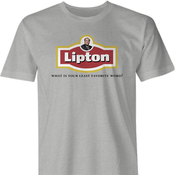 Funny James lipton soup - actor's studio men's ash t-shirt