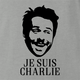 je suis charlie day ash grey t-shirt