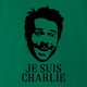 je suis charlie day green t-shirt