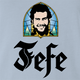 funny Pablo Escobar Jefe De Jefes Beer Parody light Blue t-shirt