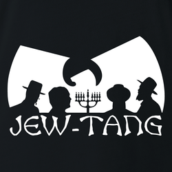 Funny Jewish Humor Jew Tang Clan men's t-shirt