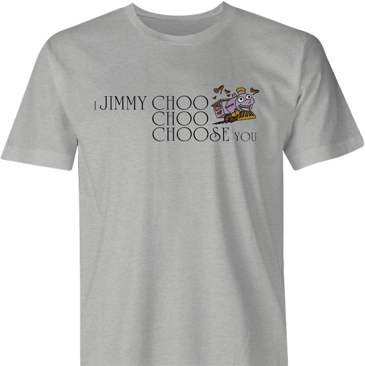 Funny I choose you jimmy choo ralph wiggum men's t-shirt