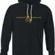 Funny Johnnie walker wheelchair parody black hoodie